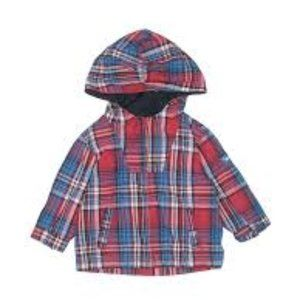 Baby Gap Plaid Hooded All-Weather Jacket 3T